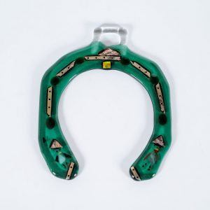 Fused Glass Horseshoe