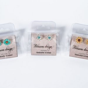 Blossom Designs Stud Earrings