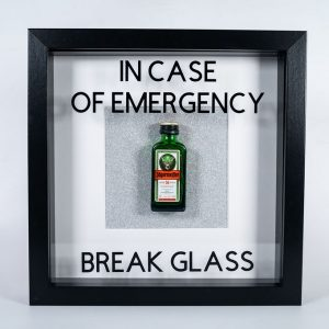 Break glass wall decor