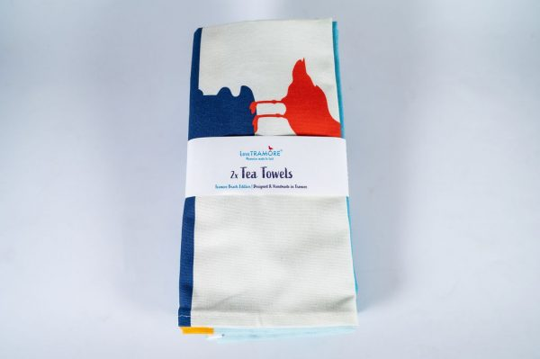 Love Tramore tea towel