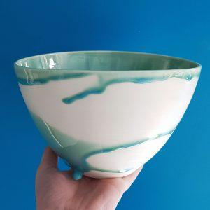 Tidal bowl blue lagoon